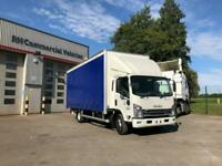 Unregistered Brand New Due In Isuzu N75.190 Curtain Side with Tuckaway Taillift