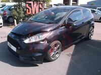 2014 Ford Fiesta ST-2 Turbo 1.6 DAMAGED REPAIRABLE SALVAGE