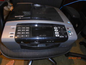 Brother MFC-495CW Wireless Color Printer + cartridges