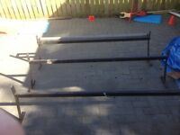 Ford transit high roof. Roof rack and roller