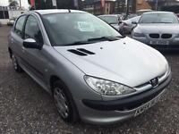 2004 PEUGEOT 206 1.1 S LOW INSURANCE 12 MONTHS MOT AVAILABLE