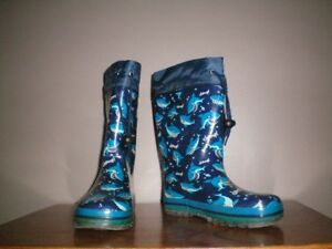 Childrens Rubber Boots   Size 1