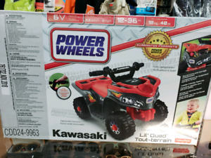 Power Wheels® Kawasaki Lil' Quad™