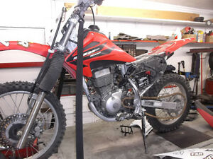 October service special for Honda Dirt Bikes