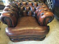 Stunning Chesterfield club chair