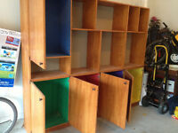 One-of-a-Kind Wall Unit for Sale