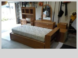 Nine Piece Single Bed Set