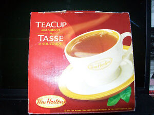 FOR SALE TIM HORTONS TEA CUP AND SAUCER