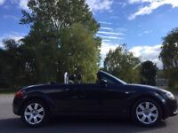 Audi TT, 225 bhp, Convertable, Full history, leathers, Immaculate Condition