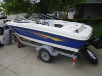 BEAUTIFUL 2007 BAYLINER BOWRIDGE 175 RARELY USED!