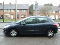 2009 Peugeot 308 1.6HDi ( 90bhp ) S 5DR 09 REG Petrol Blue