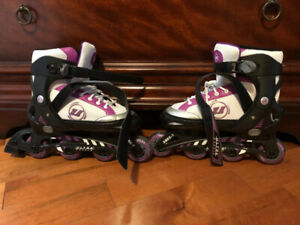 Girls Adjustable Roller Blades-size 5-8