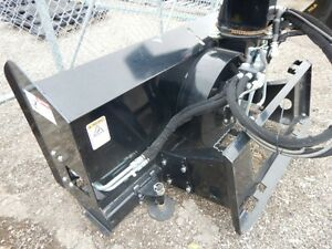 "NEW 73"" ERSKINE High Flow Skidsteer Snowblower Regina Regina Area image 6"