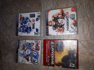 4  Sony Play Station 3, Ps3 games