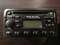 Genuine Ford 6000 CD RDS Stereo / CD Player