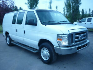 2009 Ford Econoline E-250 Commercial Cargo Van. LOW PRICED