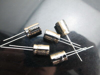 Japan 10pcs Elna Rfs Silmic Ii 10uf 50v 10mfd Silk Audio Capacitor New Diy Hifi