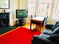 Bedroom to rent in lovely Hyndland, West end flat