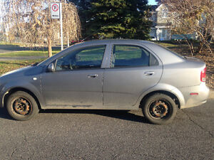 2006 Chevrolet Aveo LS Berline