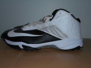 Nike football cleats size 19, NEVER worn/used