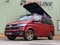 2021 VW Transporter T6.1 Redline Sport + Camper, New Campervan