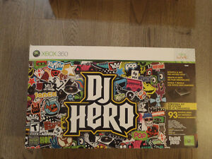 Dj Hero for Wii and 360 - Brand New Sealed in the Box!