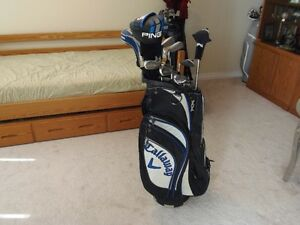 Ping, Mizuno, Cleveland Mens Right Hand Golf Package