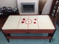 Air Hockey & Pool Table