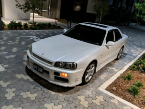 1998 Nissan Skyline ER34 GTT Sedan