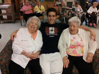 Volunteering at a Senior Center in Vancouver