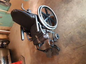 Quickie wheelchair 18x18