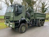 IVECO TRAKKER 6X6 TIPPER DIRECT EX-MOD, LOW KLM'S CHOICE OF 4 UNITS