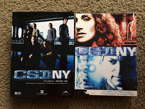CSI NY - Season 1 and 3