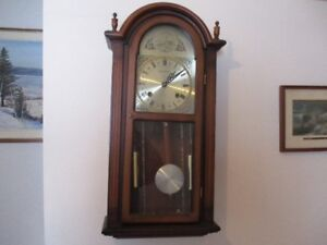 chime clock - on the hour and half hour