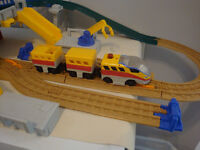 Ensemble de train électrique Fisher-Price GeoTrax