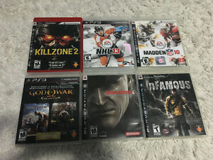 PS3 Games $5 Each