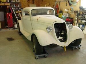 1934 3 Window Coupe project
