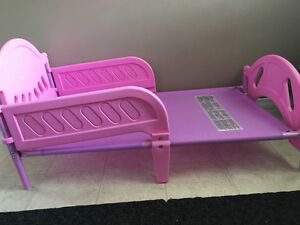 Good Condition Pink Toddlers Bed