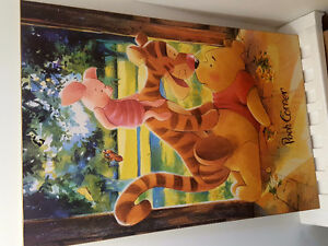 Winner the Pooh wooden picture