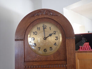 EARLY 1900'S GERMAN GRAND FATHER CLOCK