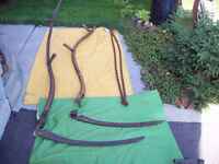 == ANTIQUE  SCYTHE   * Could be used for GRIMM REAPER  Prop