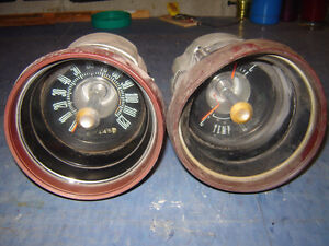 1967 FORD THUNDERBIRD Speedometer gauge & Alternator/Temperature
