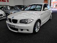 2011 BMW 1 SERIES 118d M Sport From GBP10950+Retail package.