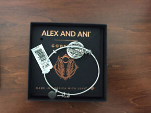 BRAND NEW WITH TAGS AND BOX ALEX AND ANI GODSPEED BRACELET