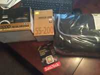 Nikon D3200 Brand New never used Amazing Kit with 2 Lenses