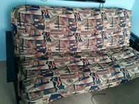 QUALITY FUTON - lke NEW! Less than 1yr old - Chateauguay -