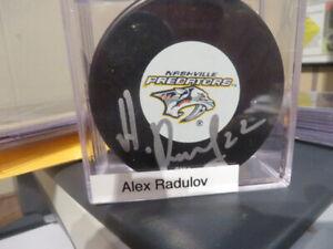 Alexander Radulov-Nashville Predators Autographed Puck