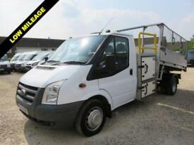 2009 59 FORD TRANSIT 2.4 TDCI 350 115 BHP TIPPER WITH TOOL BOX AND WORK GANTRY 4