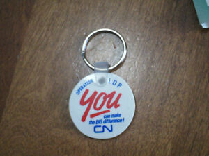 CN Canadian National railway key fob