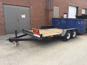 14' Flat Bed Trailer